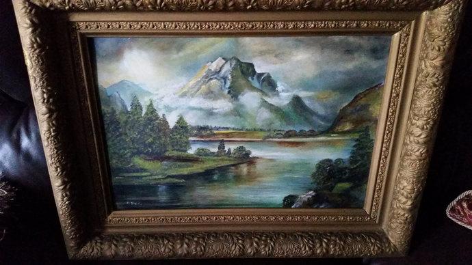 English School Landscape Scene