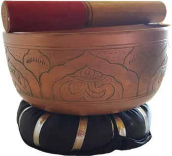 """6"""" Tibetin Singing Bowl"""