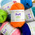 40 Knitting Yarn Mini Skeins - Colorful Yarn For Crochet and Knitting - 7 Ebooks
