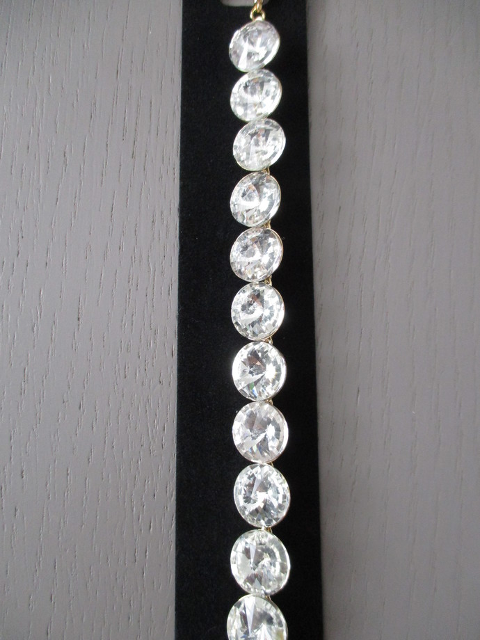 Large Round Diamante Bracelet - SALE
