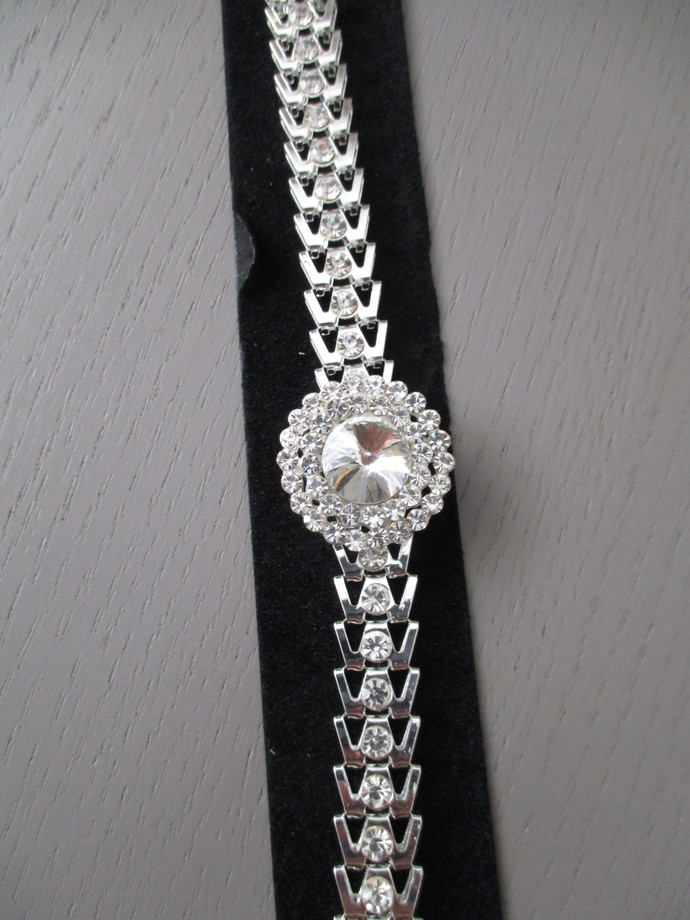 Round Diamante Bracelet - SALE