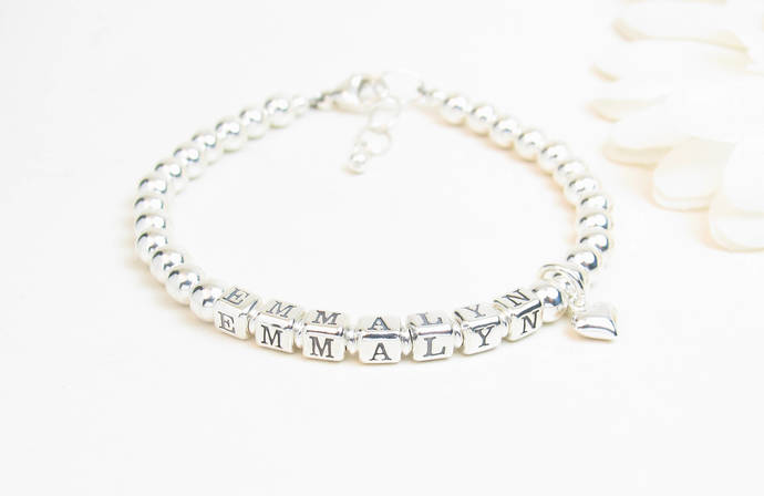 infant bracelets girl bracelet little baby pin name
