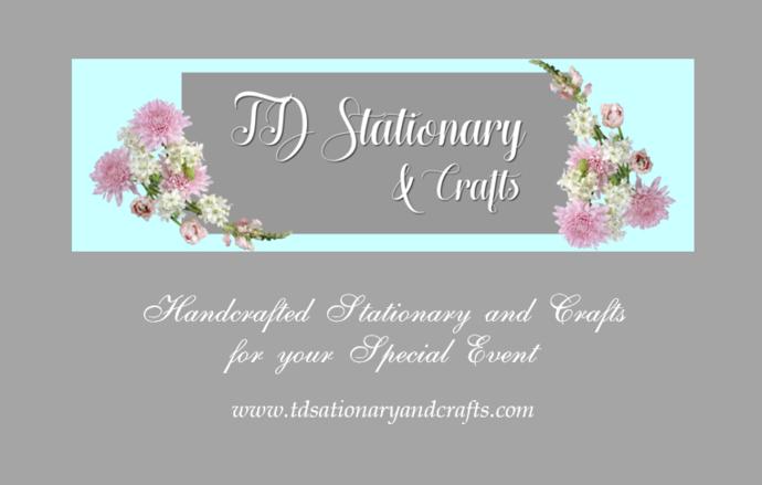 Scrolling Boarder Tri Fold Wedding Programs Set