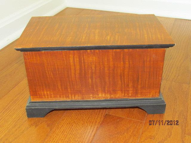Wood Grain Painted Box - 2001