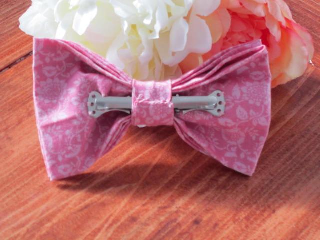 bow tie, fun bow tie, pink floral bow tie, wedding bow tie, groom's bow