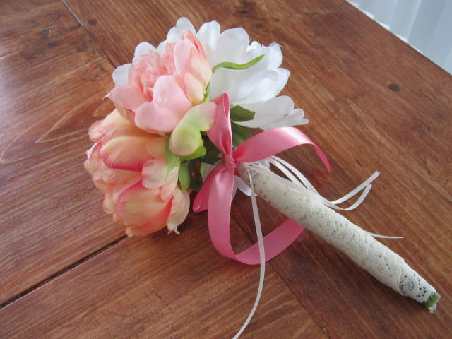 Bouquet, bridal, pink corral peony, bridal bouquet, bridesmaid, maid of honor,