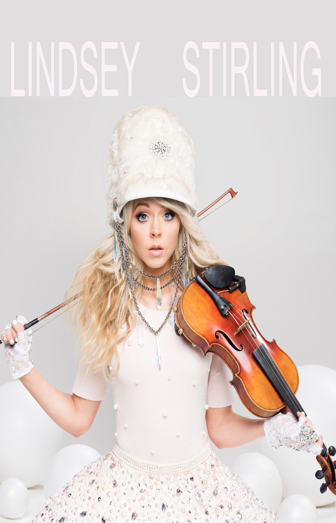 "Lindsey Stirling Canvas Print (13""x19"" or 18""x28"")"