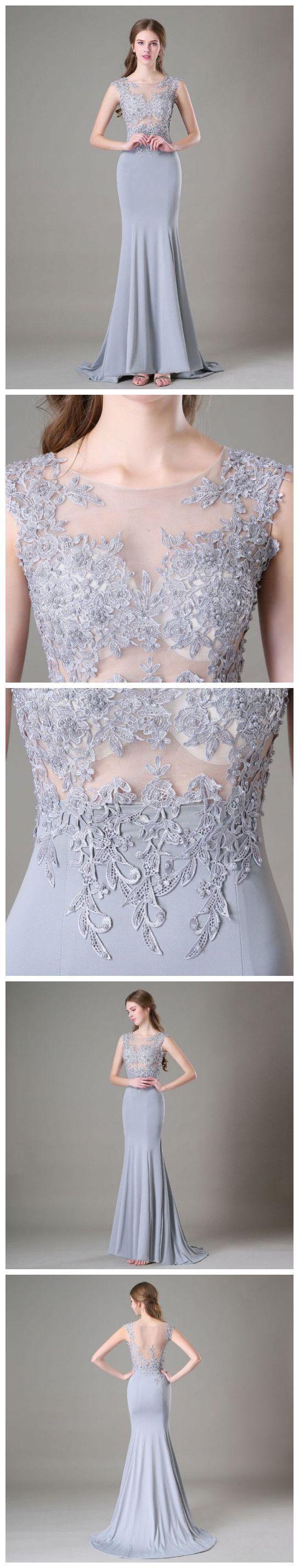 Beading Lace Prom Dress,Long Prom Dresses,Prom Dresses,Evening Dress, Evening