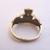 Vintage Estate 10k Gold Irish Claddagh Ring 3.1g E1958