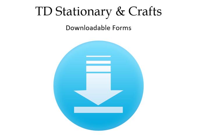 Favor Tag Downloadable Information Form