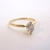 Womens Vintage Estate 14K Gold Marquise Diamond Engagement Ring  2.0g E1961