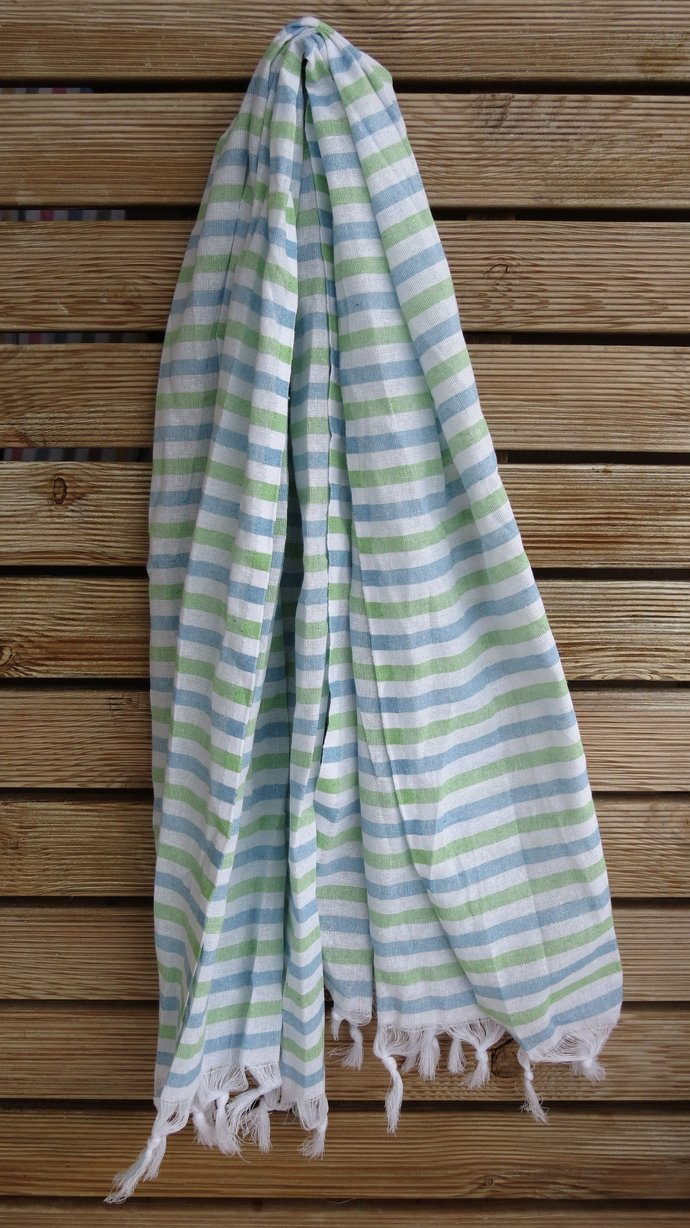 100% High Quality Turkish Cotton, Hand Loomed by Lykia Way on Zibbet