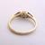 Womens Vintage Estate 10k Gold Ring w/ Opal & Diamonds 1.8g E1962