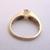 Women's Vintage Estate 14K Yellow Gold Diamond Anniversary Ring, 3.5g E1974