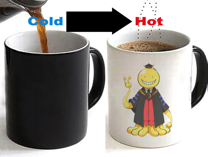 Assassination Classroom Color Changing Ceramic Coffee Mug CUP 11oz