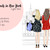 Watercolour fashion illustration clipart - Friends in New York - Light Skin