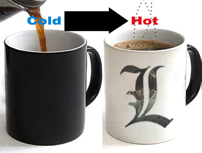 Death Note Color Changing Ceramic Coffee Mug CUP 11oz