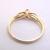 Women's Vintage Estate 14K Yellow Gold, Solitaire Diamond Ring, 2.0g E1978