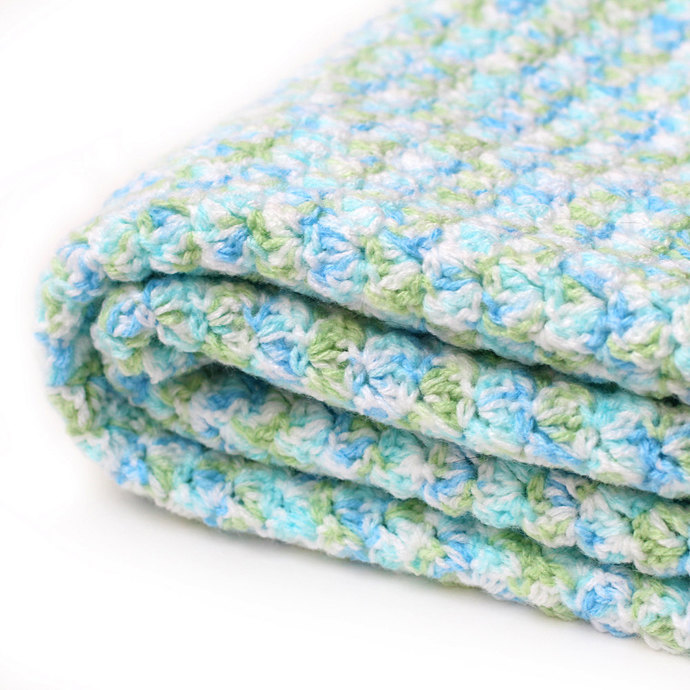 Baby Blanket. Childs Snuggle Up Lovey. Car Seat Afghan No Strap Holes. Security