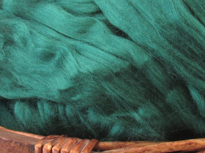 Dyed Bamboo Top - Green / 1oz