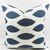 Premier Navy  Blue  & White In Chipper Print  Sofa Pillow cover. Throw pillow
