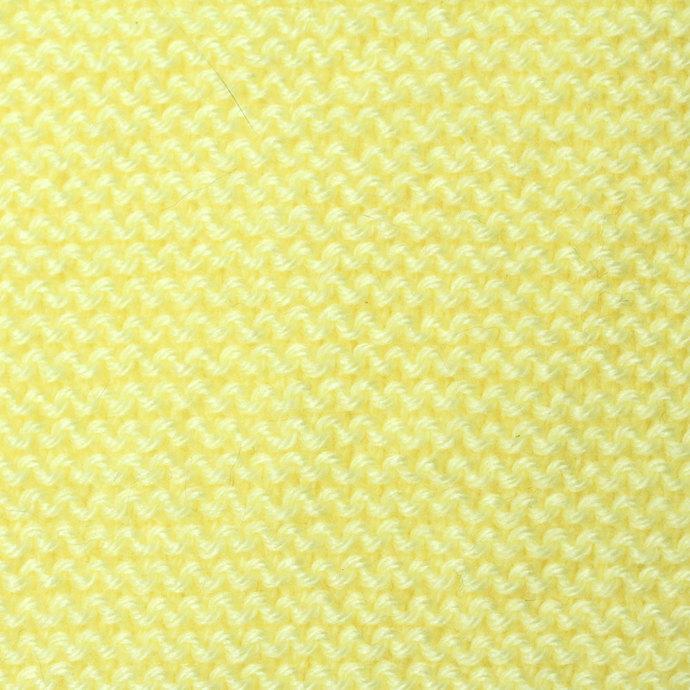 Kids Pale Yellow Scarf. Unisex Toddler Pull Thru Knit Scarf. Keyhole Muffler 2