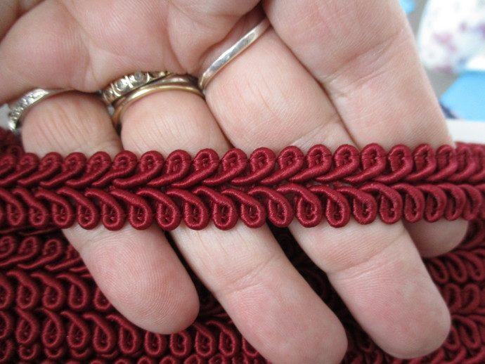 1yd Top Quality Chunky Chinese Braid