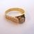 Womens Vintage Estate 10K Yellow Gold Diamond Ring 2.9g E1989