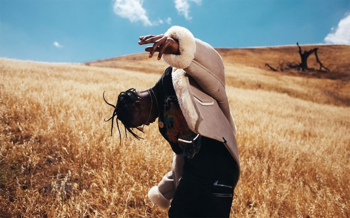 "Travis Scott Canvas Print (13""x19"" or 18""x28"")"