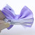 Purple and White Valentines Day Hair Bow Set of 2. Purple Heart Stacked Bows