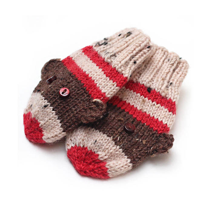 Mittens No Thumbs, Sock Monkey