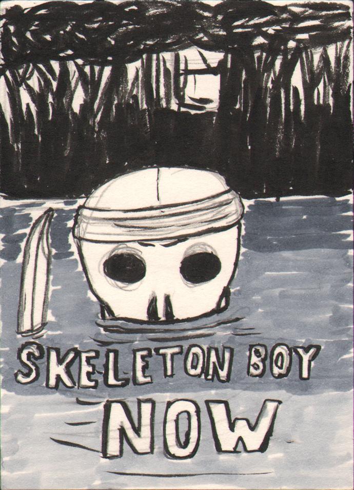 Skeleton Boy Now