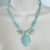 Turquoise Wolf Necklace