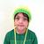 Child's Neon Ear Flap Hat. 2 to 6 Years. Gender Neutral. Warm Wool Blend.