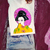 Japanese Geisha, Japan Art, Woman T Shirt Tee, High Quality Cotton, Handpainted