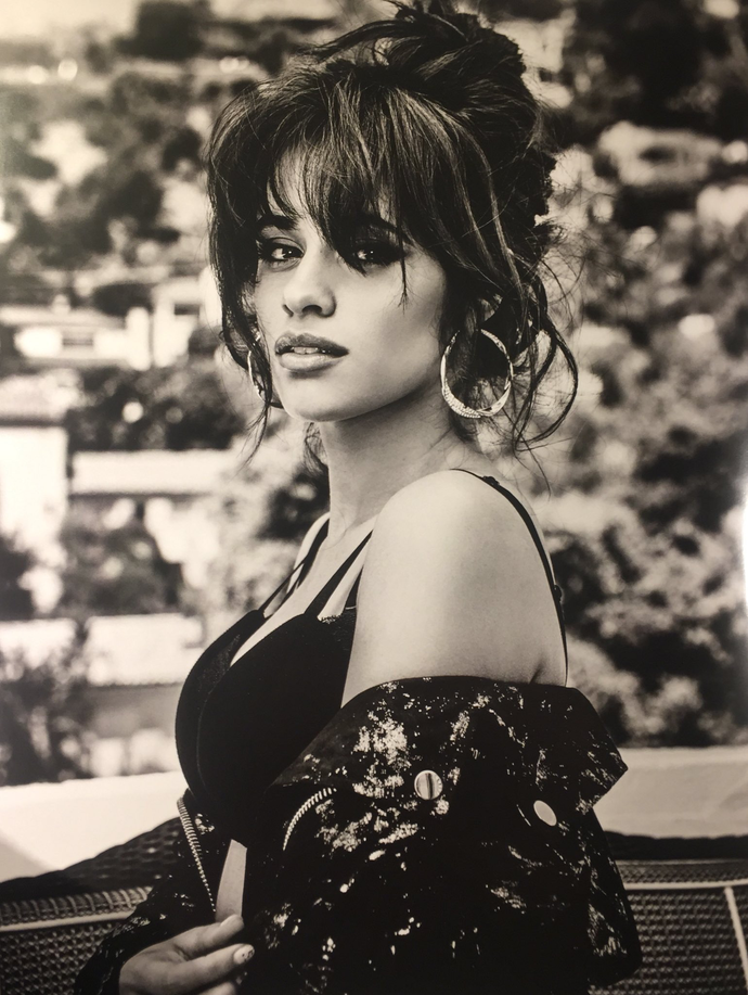 "Camila Cabello  Canvas Print (13""x19"" or 18""x28"")"