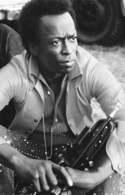 "Miles Davis  Canvas Print (13""x19"" or 18""x28"")"