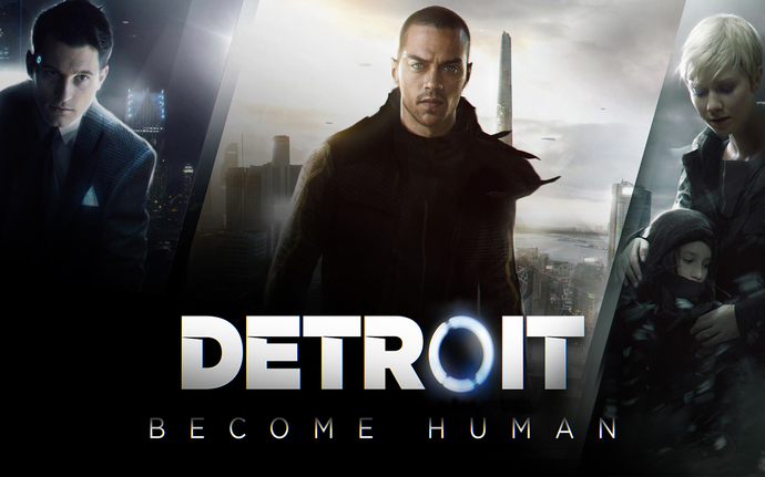 "Detroit Become Human  Canvas Print (13""x19"" or 18""x28"")"