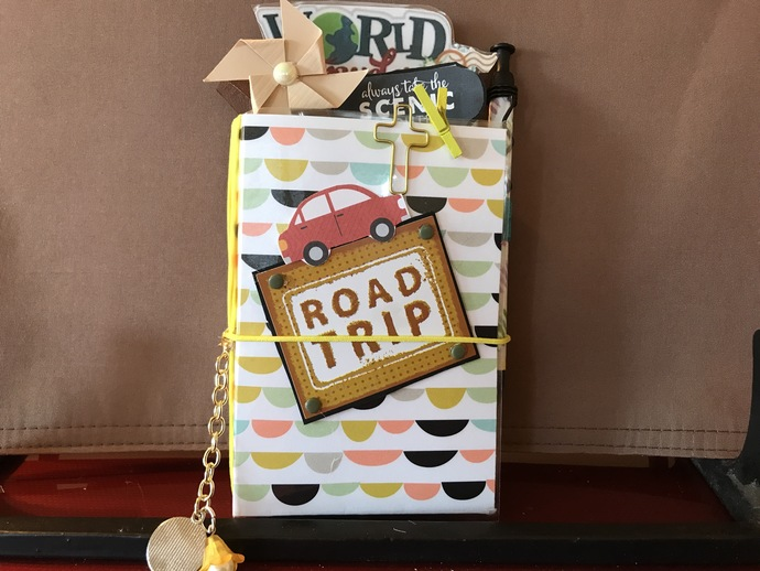 ROAD TRIP Traveler's Notebook (Laminated, Micro)