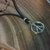Mens leather necklace surfer necklace