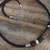 mens leather necklace surfer necklace  leather choker