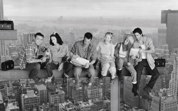 "Friends TV Series  Canvas Print (13""x19"" or 18""x28"")"