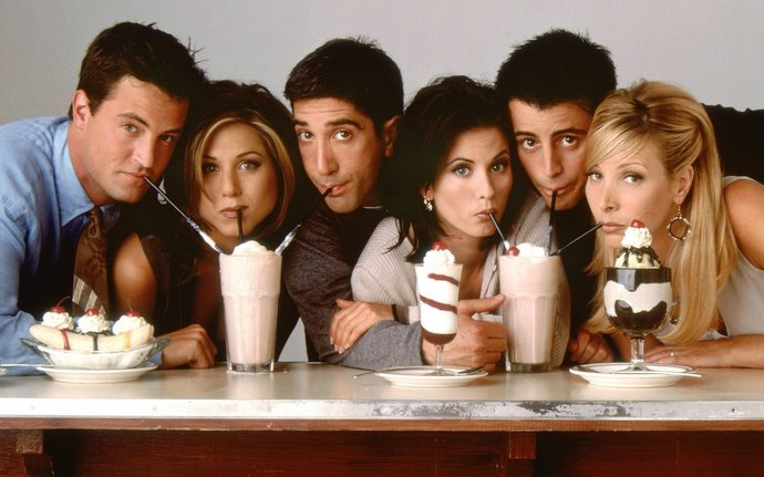 """Friends TV Series  Polyester Fabric Poster (13""""x19"""" or 18""""x28"""")"""