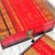 LARGE RED & OAK wooden Lockable MEMORY storage Box with matching Wooden JOURNAL
