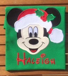 mickey santa christmas disney family shirts mvmcp disney christmas shirts mickey