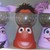 Sesame street candy dish, elmo candy jar, cookie monster birthday, elmo birthday