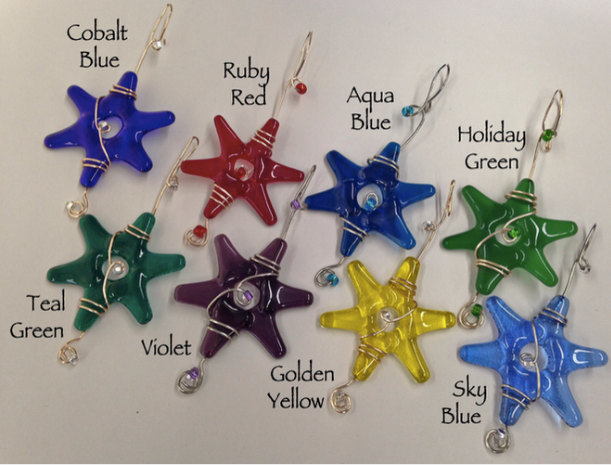 Wedding Decorations, Clear Glass Star, Customizable, Holiday Decorating, Glass