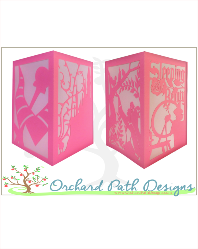 Sleeping Beauty Aurora Paper Lantern for Disney themed wedding, shower, birthday