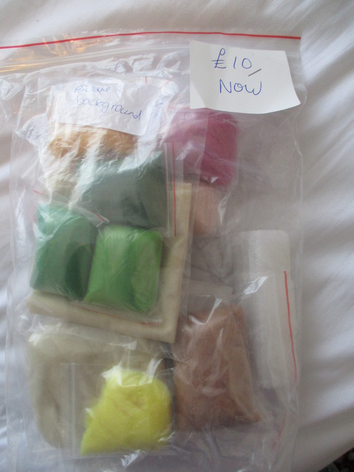 Felting Kit with FREE Needles - SALE - Check out SALE PRICE!!!