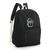 Animal Crossing Lloid Gyroid Black Canvas Backpack